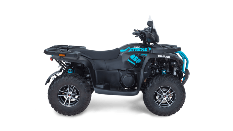 SHADE Xtreme 850 TOURING EPS Black Ocean Blue Right